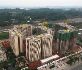 领地澜山叠拼于高层住宅10月工程进度来了