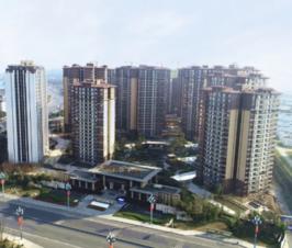 乐山邦泰大渡河府滨河湾2月工程进度来了