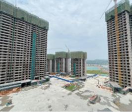 滟澜洲繁花里6月最新工程进度来了,7、8、9#楼封顶!